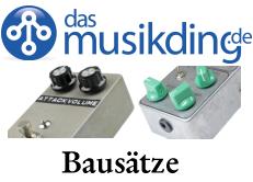 musikding gitarre und bass effekt pedale bausätze
