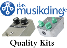 musikding guitar and bass effect pedal kits
