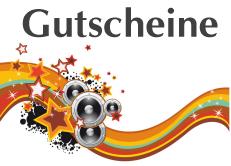 Musikding Geschenk Gutschein