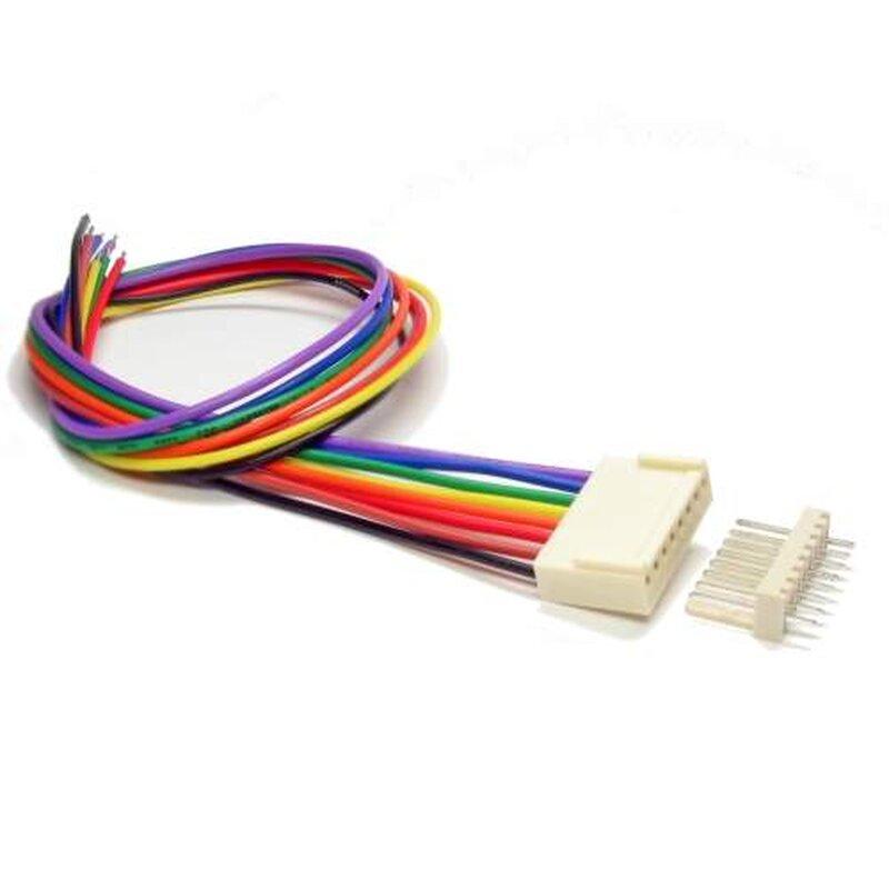4-polig Kabel Xenterio Platinen-Steckverbinder-Set 10 Stiftleisten//10 Buchsenleisten m