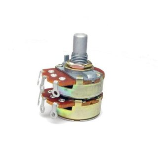 Alpha Potentiometer 24mm Stereo 500k lin