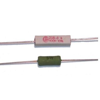 15R wire wound resistor 5W