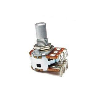 Alpha Potentiometer 16mm Stereo 100k rev log