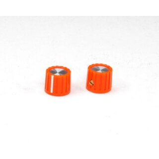 Scheibenknopf 13,5mm orange