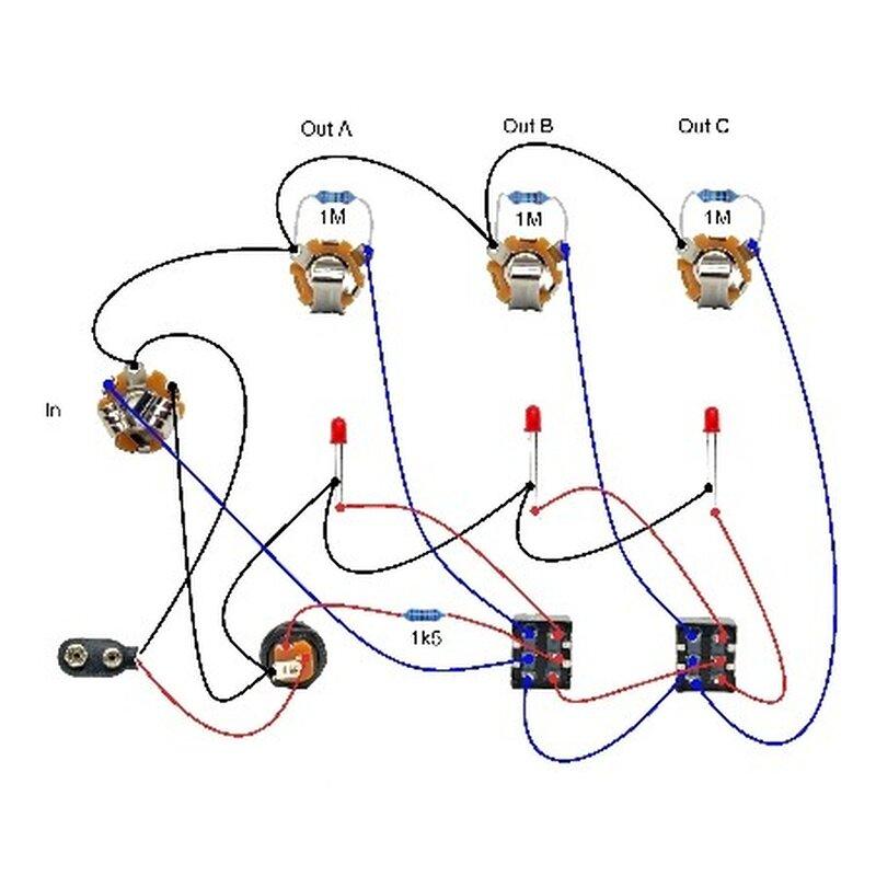 Ab Box Guitar Wiring Diagram - custom project wiring diagram Ab Box Wiring Diagram on