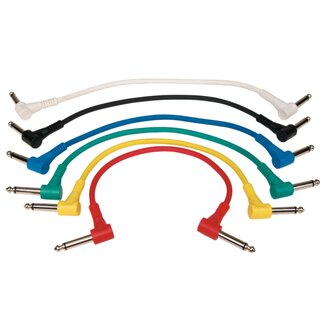 Patchcord 30cm angled colours