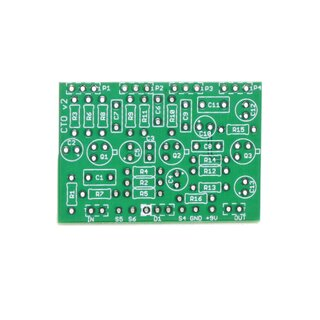 Color Tone Overdrive pcb