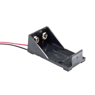9V battery compartment wire