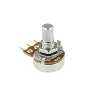 Potentiometer 16mm 250k lin pcb 6mm