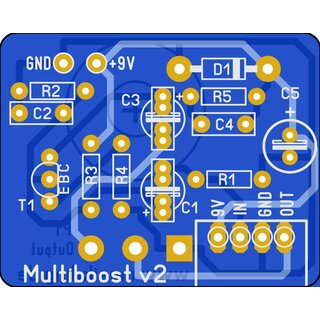 Multiboost pcb - Booster