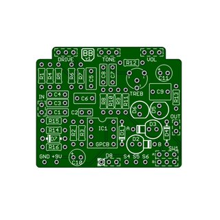 Blues Buster pcb