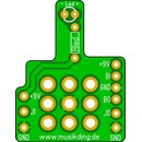 3PDT + LED Board set of 3