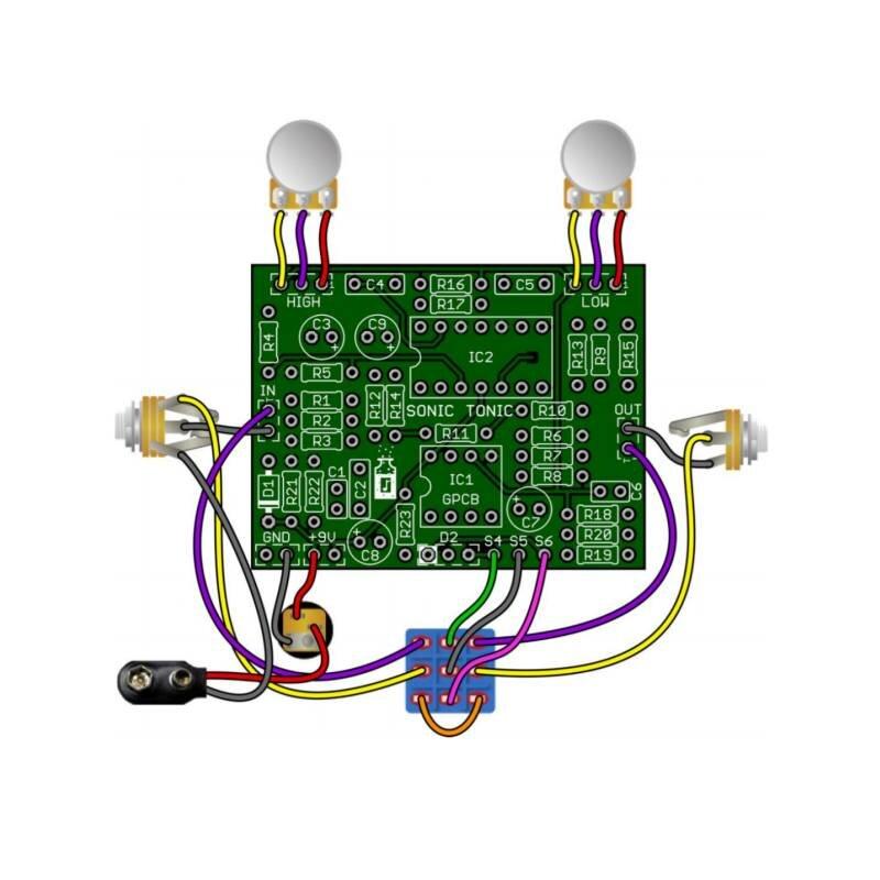Sonic Tonic EQ/Enhancer Bausatz, 22,90 €