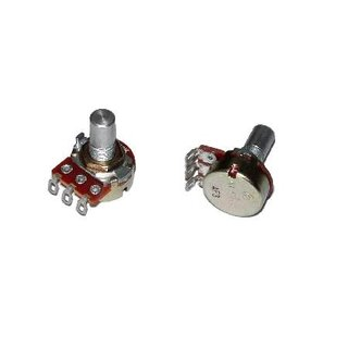 Alpha Potentiometer 16mm 500k lin